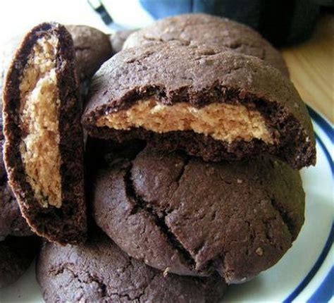 peanut butter chocolate pillows recipe dishmaps