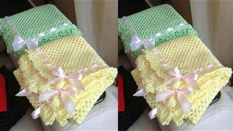 como hacer colchas para bebe aprende hacer estas colchas para bebes tejidos a crochet