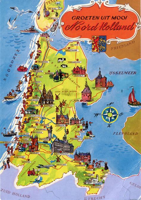 netherlands map free map free large images
