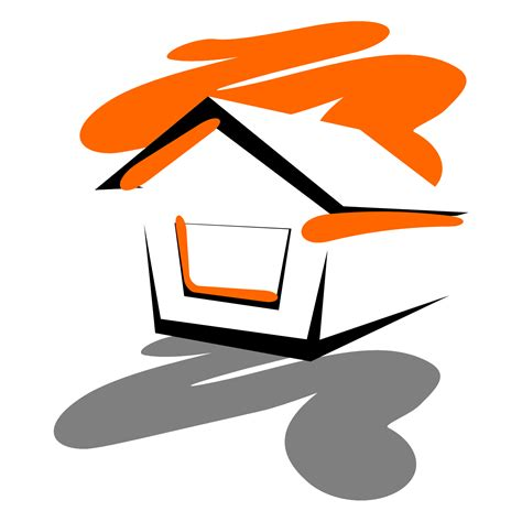 vector for free use abstract 3d house