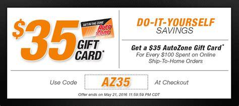 Autozone Gift Card - autozone savings autozone com