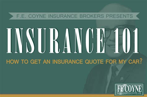 What Do The Need To Get A Search Warrant What Do I Need To Get An Insurance Quote F E Coyne Insurance Brokers Ltd