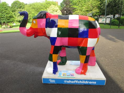 The Patchwork Elephant - elmer the patchwork elephant sheffield