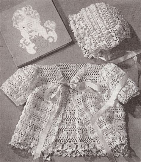 vintage pattern crochet vintage crochet patterns baby crochet and knit
