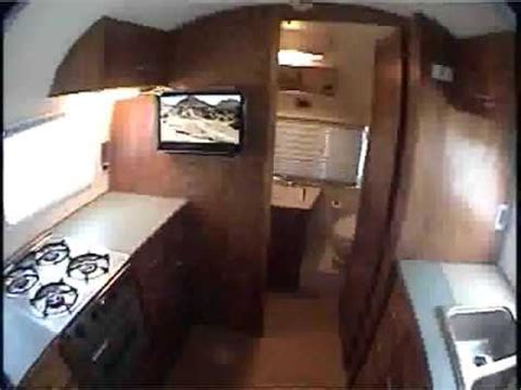 Interior Restoration by Airstream Globe Trotter Interior Restoration