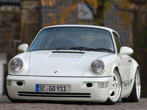 slammed porsche 911 slammed white 964 porsche 911 vw audi porsche