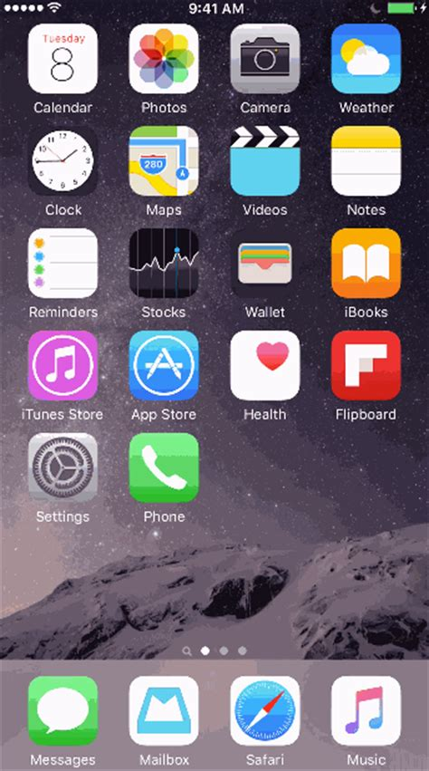 gif wallpaper iphone ios 9 ios using gif find share on giphy