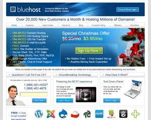 Bluehost Hosting Review Why Choose Bluehost For Wordpress Hosting Bluehost Ecommerce Templates