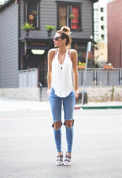 jeans style 2015 knee cut jeans why we re all obsessed with them