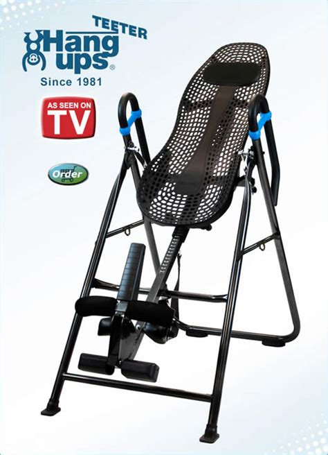 inversion table as seen on tv teeter hang ups ia 4 inversion table