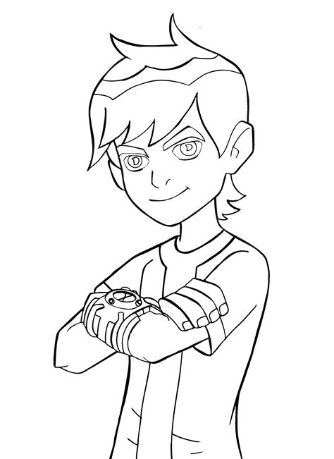 ben 10 coloring pages free printable ben 10 coloring pages for