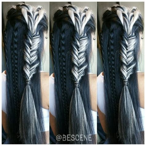 black and white hair color black and white tribal hair hair colors ideas