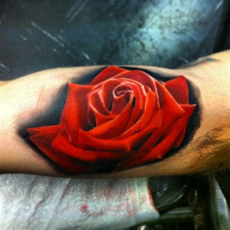 coloured rose tattoo 60 pictures of terrific golfian