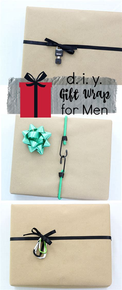 diy projects for men 3 diy gift wrap ideas for men lifestyle blog