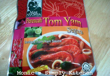 sup tom yam non seafood monic s simply kitchen