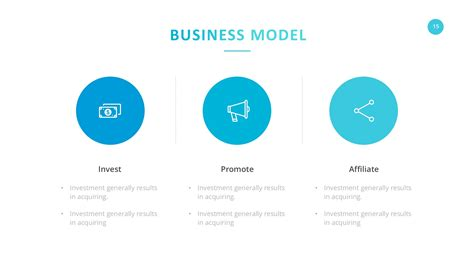 startup business model template startup company pitch deck keynote template by slidefusion