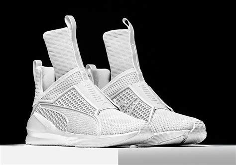rihanna high top sneakers rihanna and unveil original sneaker