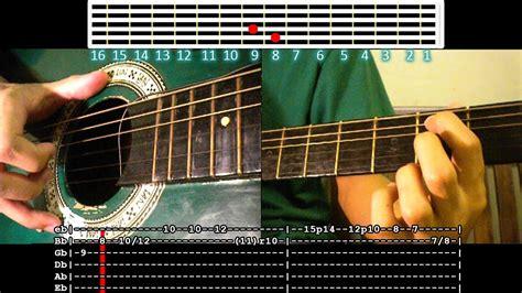 guitar tutorial walang iba walang iba ezra band lead solo guitar tutorial youtube