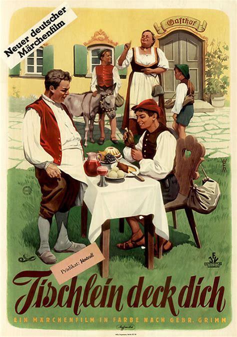 tischlein deck dich kurzfassung filmplakat tischlein deck dich 1956 plakat 4 4
