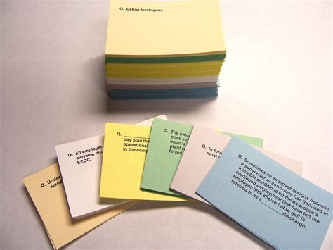 flash cards may 2013 biologypost