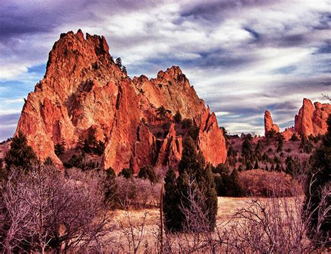 Garden Of The Gods Sunset Garden Of The Gods Sunset Photograph By Brian Kerls