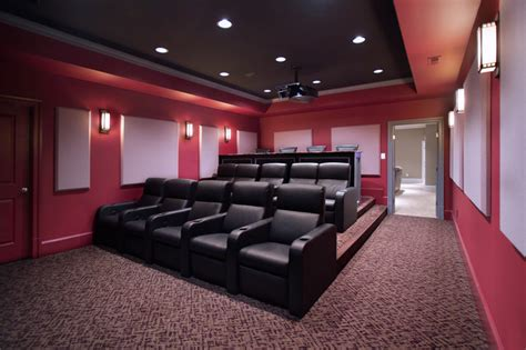 how to build a home cinema room media room and home theater traditional home theater dc metro by rule4 building