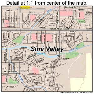 map simi valley california simi valley california map 0672016