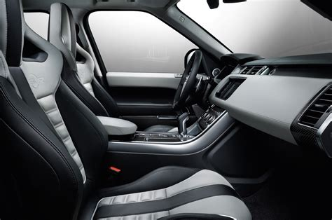 land rover black inside 2015 land rover range rover sport svr first look motor trend