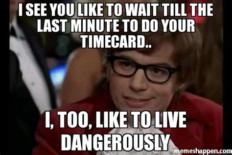 Timecard Meme - time card reminder meme card free download funny cute memes