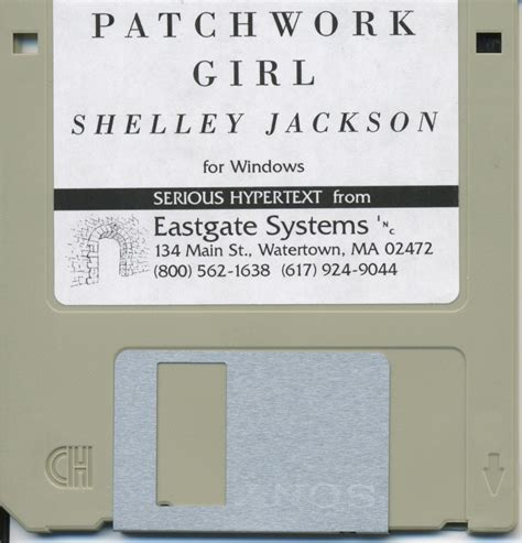 Patchwork Shelley Jackson - re release floppy front
