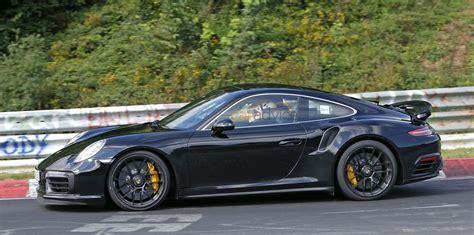 porsche turbo 911 2016 porsche 911 turbo s facelift spied undisguised