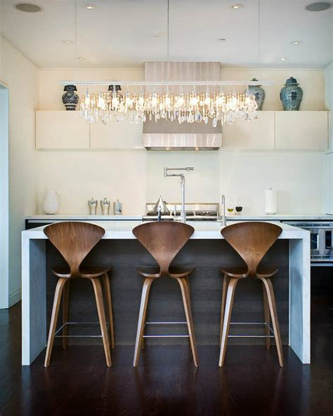 Industrial Style Kitchen Island by 6 Modern Kitchen Stools With Backs