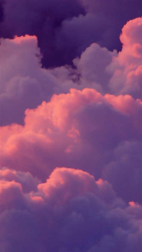 wallpaper awan pink 640x1136 pink clouds iphone 5 wallpaper