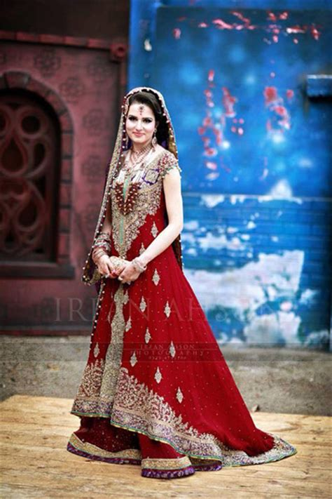 Traditional Pakistani Bridal Wear Wedding Dresses