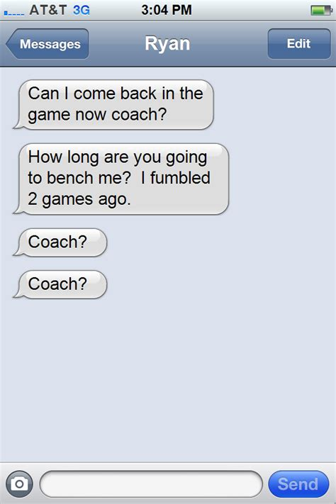 Meme Text Generator - fake text messages of norv turner bolts from the blue
