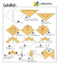 Traditional Origami: Godfish   Paper Origami Guide