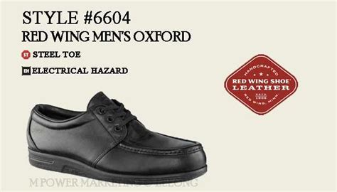 moofeat oxford safety coklat shoes wing 6604 s oxford safety sho end 9 5 2019 6 15 pm