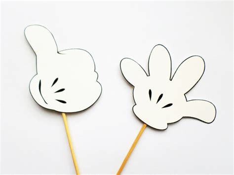 finger mouse template mickey mouse template pictures to pin on