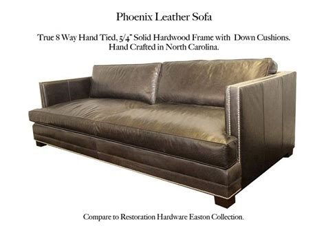 restoration hardware easton sofa 17 best images about cbf leather furniture on pinterest