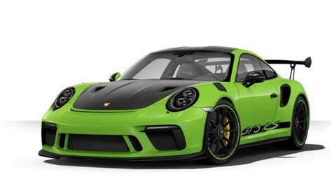 Porsche 911 Farben by The Most Expensive Porsche 911 Gt3 Rs Costs 253 240