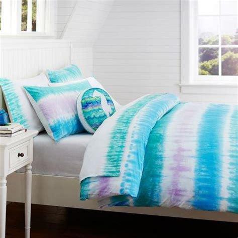 blue tie dye comforter reef tie dye duvet cover sham blue from pbteen artsy