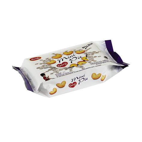 jual monde genji mini original pie biskuit 50 g