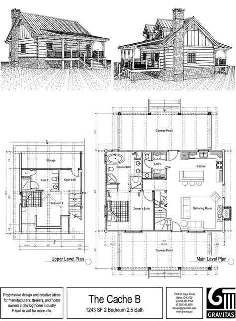 Cabin Floorplan Small Cabin Floor Plan House Plans