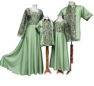 Baju Batik Keluarga 10 model baju batik keluarga trend terbaru 2017