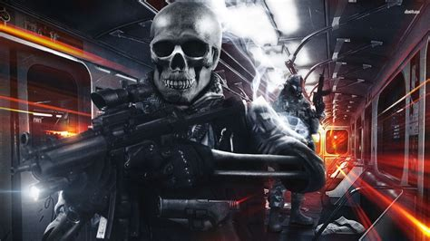 skull soldier wallpaper hd  images
