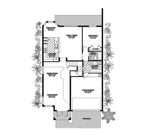 southwestern floor plans orangebrook southwestern home plan 106d 0023 house plans