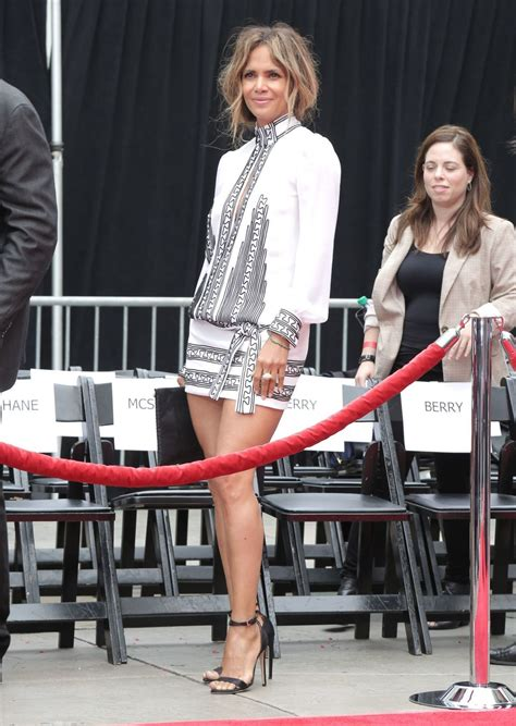 halle berry promotes john wick   tcl chinese theater