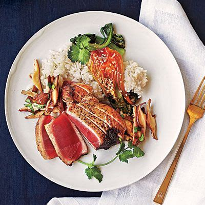 the new way to cook light recipes light recipes tuna steaks and tuna