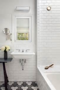 Bathroom bath marble beveled white subway tile chic modern glam luxury