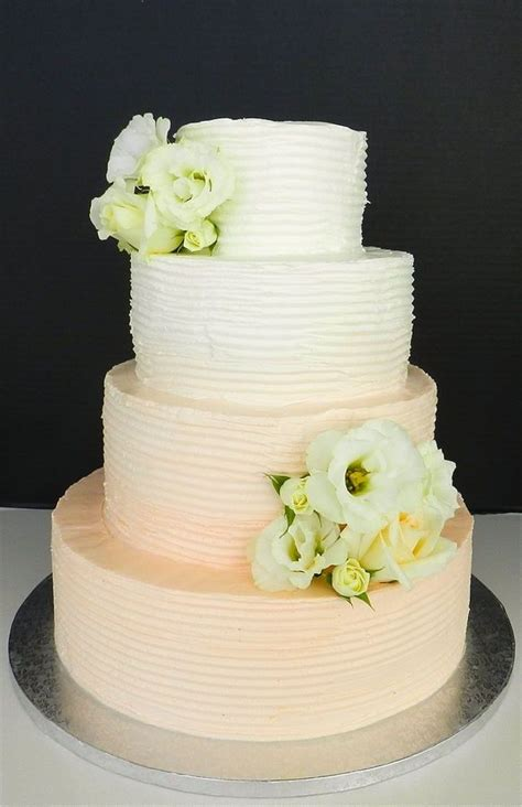 Wedding Cake No Fondant by Buttercream Wedding Cakes No Fondant Buttercream Ombre
